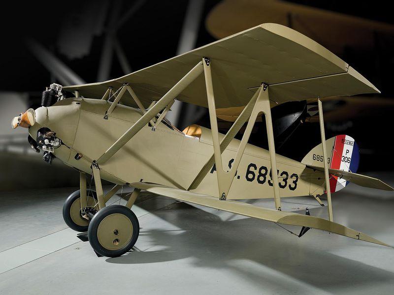 la M-1 en el Museo Nacional del Aire y el Espacio